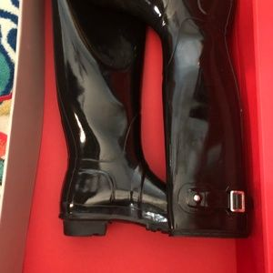 Hunter Tall High Gloss rain boots